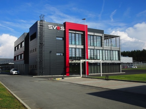 Výrobní areál firmy SVOS, spol. s r.o. – Přelouč, administrativní budova
