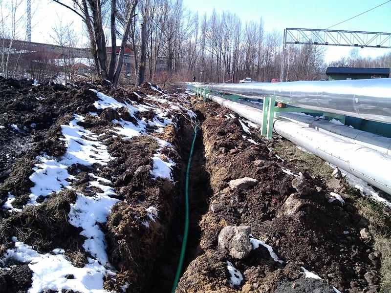 Teplofikace obce Ledvice – datová síť