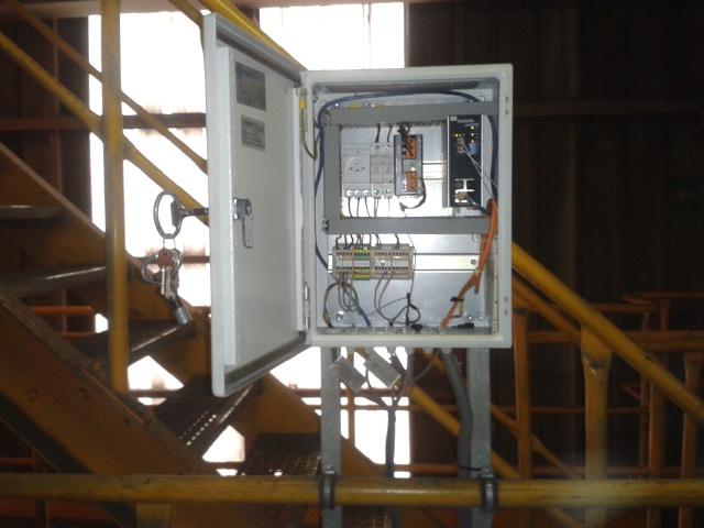 Integrace kamerového systému CCTV, Elektrárna Poříčí
