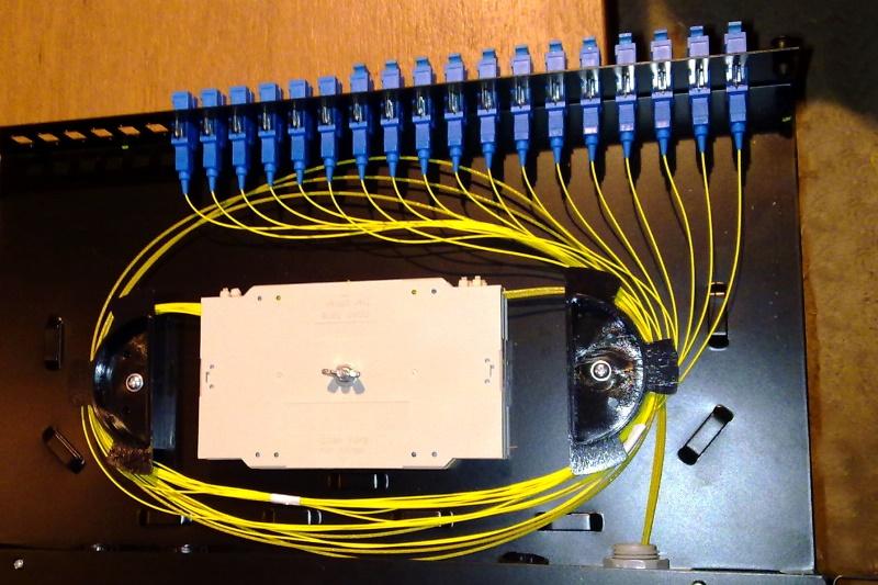 Optické sítě venergetických a průmyslových závodech